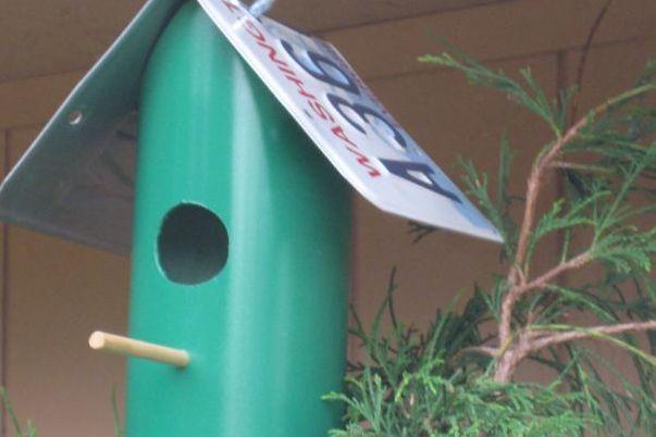 PVC Birdhouse