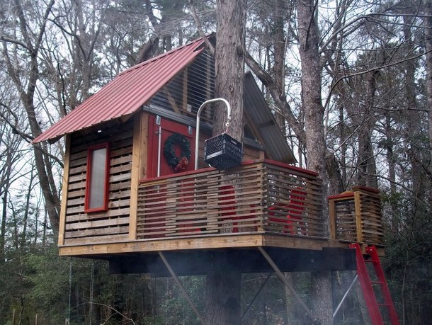 Amazing Diy Tree House Simplified Building
