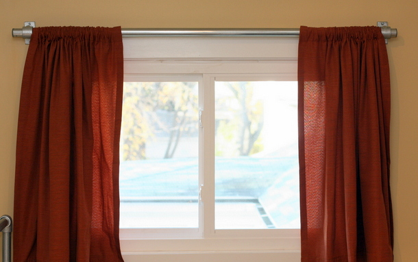 Window Pipe Curtain Rods