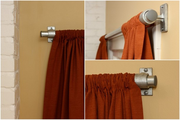 Curtain Rod Style 1: Open Ends