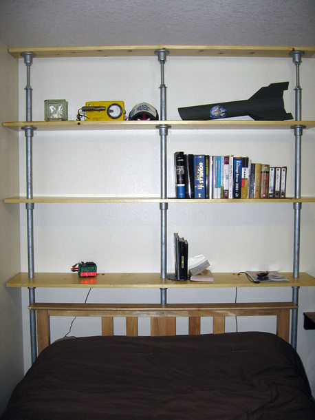 Zero Point Industrial Book Shelf