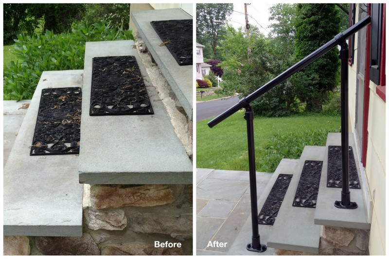 wrought iron railing alternatives