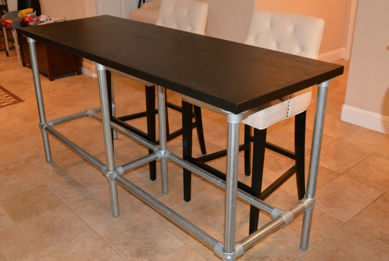 Diy Bar Height Table