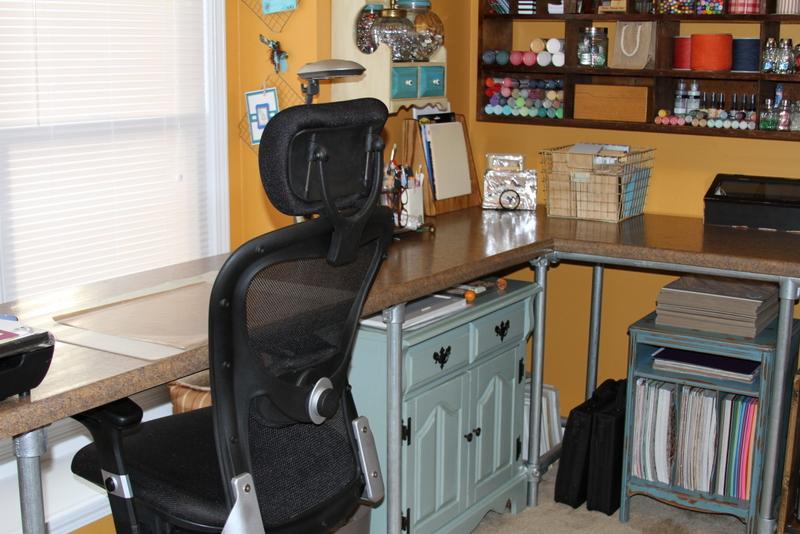 Countertop Height Desk : Countertop Desk