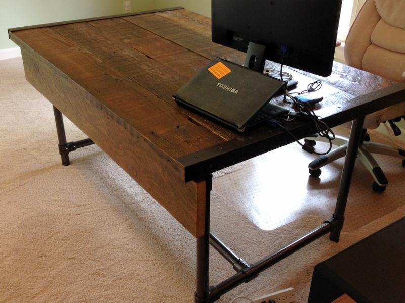 Easy To Build Barn Wood Desk Desk Week