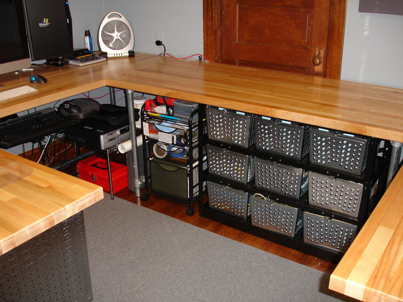 DIY Wrap Around Work Station Projects Simplified Building