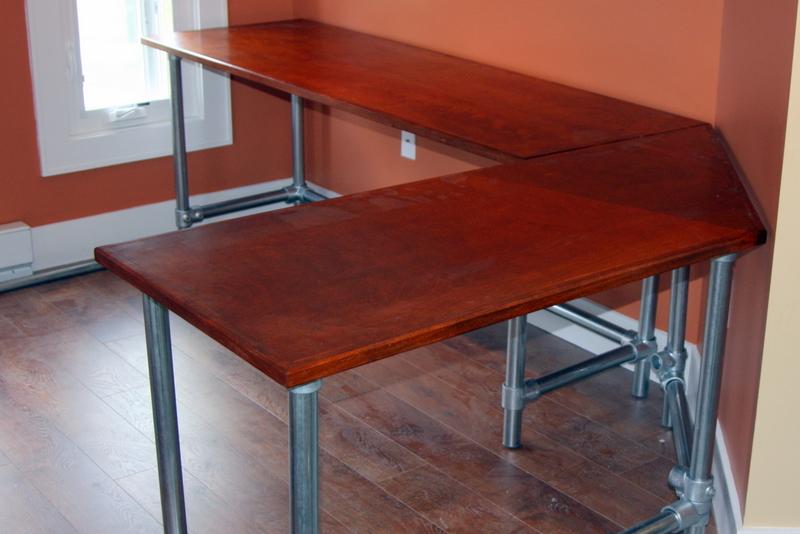 diy computer desk design | DIY Ergonomic Computer Desk - Revisited