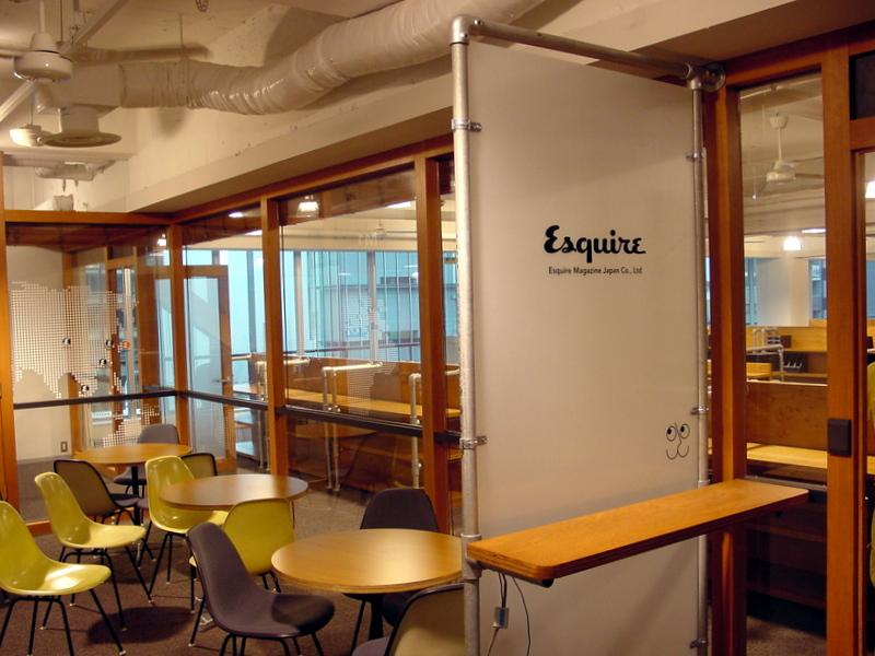 4 industrial office design ideas using kee klamp for Industrial room dividers