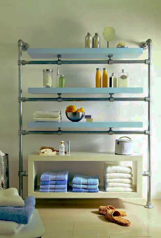 IKEA Hack Bathroom Shelf