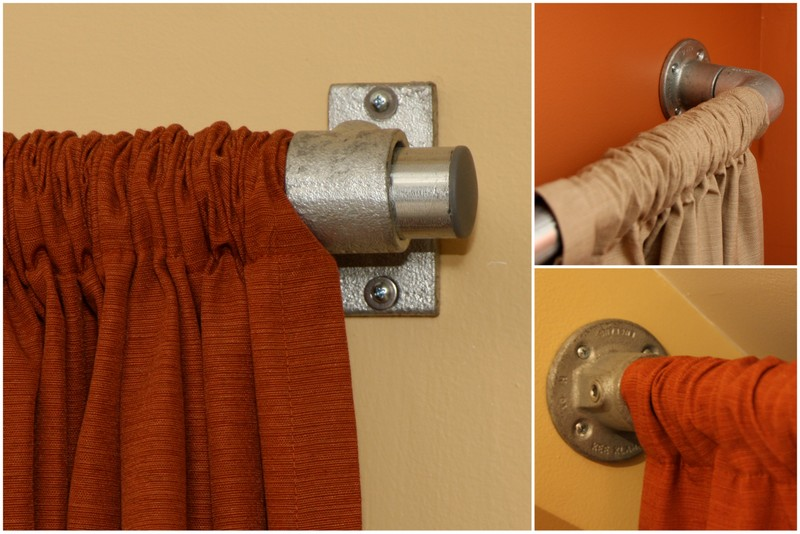 Industrial Pipe Curtain Rods