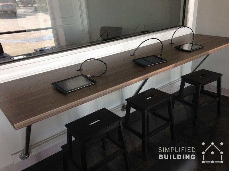 iPad Desk - Wall Mounted