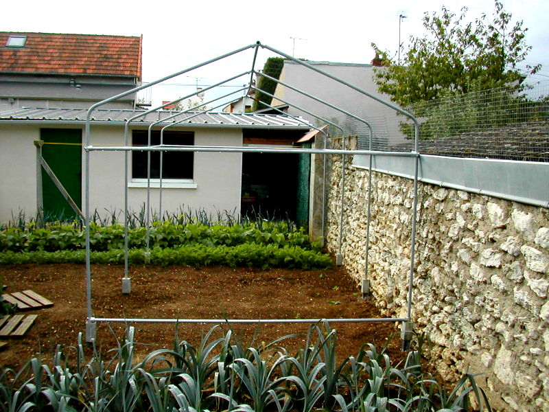 Build Your Own Pvc Greenhouse : Build your own garden greenhouse