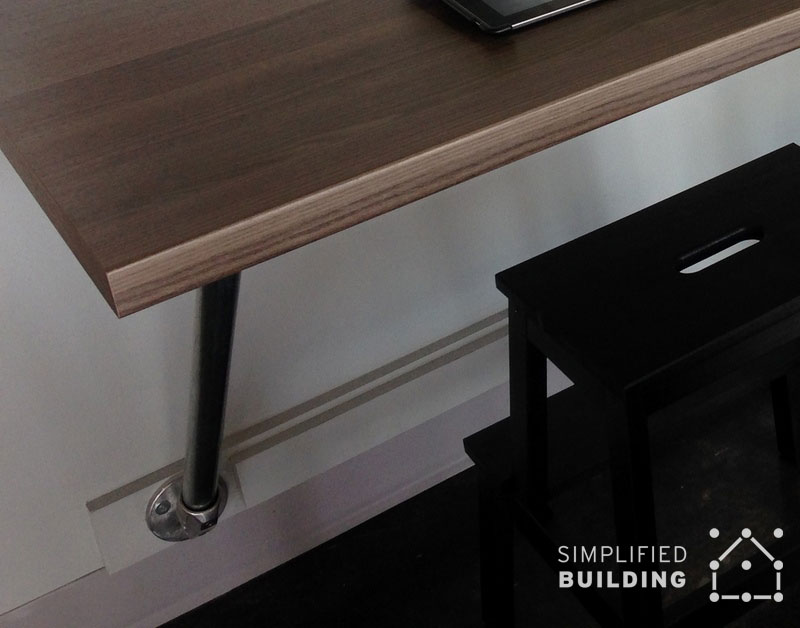 Wall Mounted Desks Great For Small Spaces