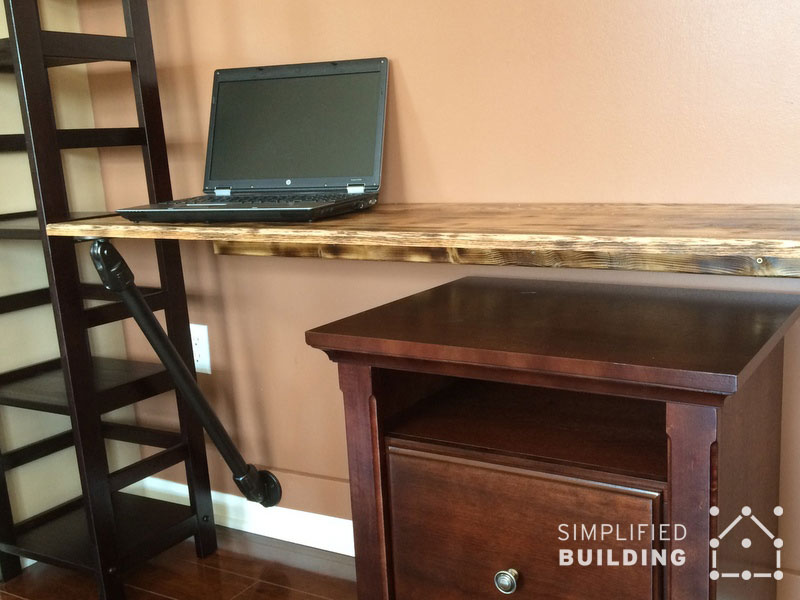 Wall Mounted Laptop Desk