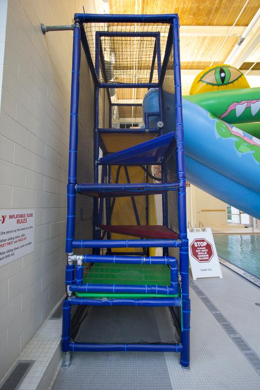 YMCA Slide - Restored Slide Tower