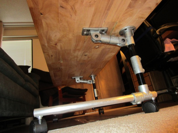 Adjustable Height Table - Bottom