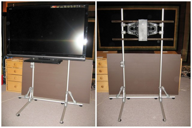 Freestanding Flat Screen Tv Stand Simplified Building
