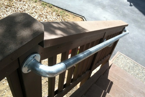 Front Step Handrail