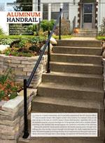 Handy Magazine Aluminum Handrail