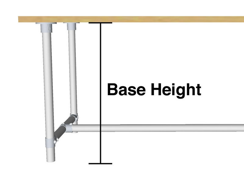 Base Height Diagram
