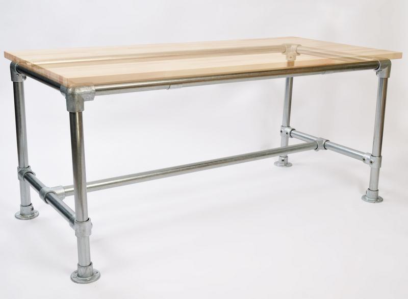 Basic Pipe Desk Frame