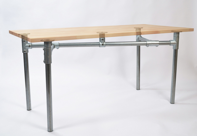 Z Table Base with Faded Top