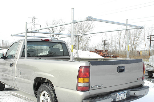 Truck Pipe Rack >> Truck Rack Pictures And Sketchup Simplified Building