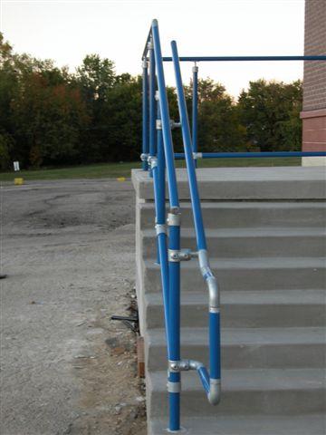 Ada Amp Osha Handrail Design Andy Pease Simplified Building