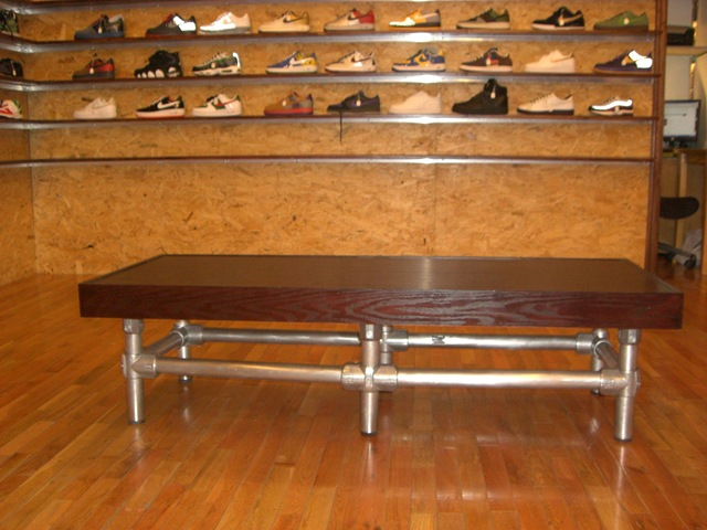 Kee Lite Bench and Railing in Retail Store : galvanized pipe bench - www.happyfamilyinstitute.com
