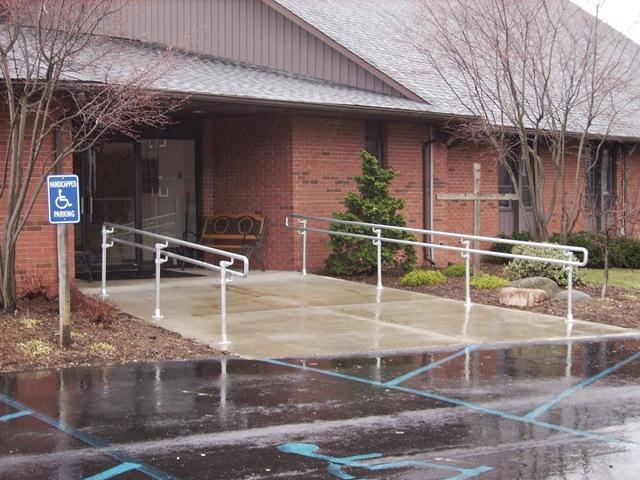 ADA Handrail at a Church