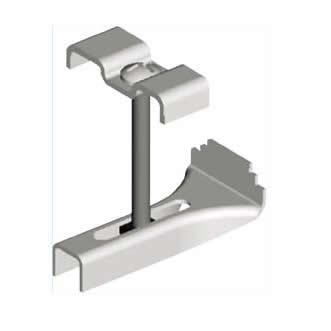GRATING CLIP - Secures Steel Grating to Existing Steel Structure