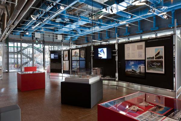 Ausstellung aus Rohrverbinder