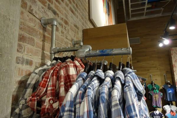 Kleiderständer Ladeneinrichtung