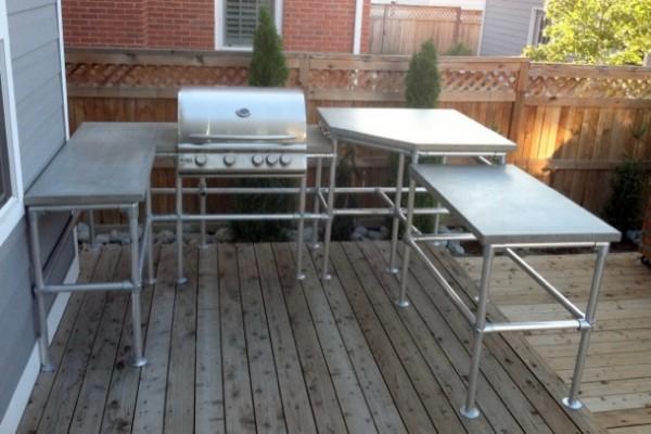 Outdoorküche Bauen Jobs : Outdoor küche aus rohrverbindern und rohren was werden sie bauen
