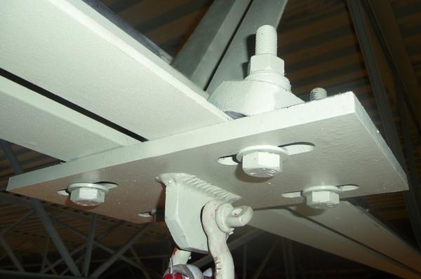 Stahlbaubefestigungen Anwendungsbeispiele
