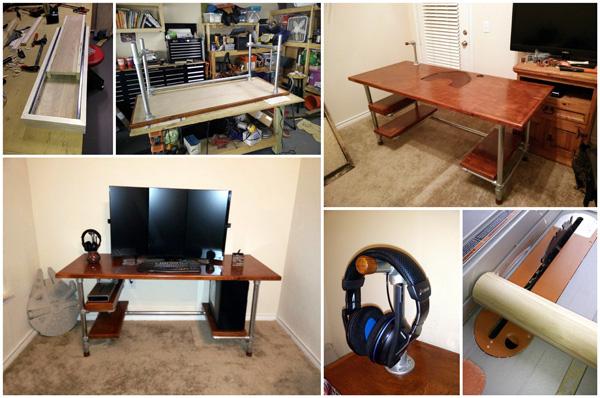 Bauen Sie es einfach selbst: Schreibtisch für Computerspiele