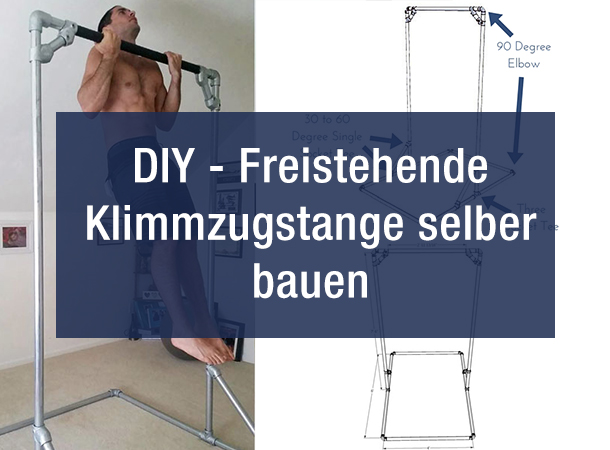 diy freistehende klimmzugstange selber bauen blog. Black Bedroom Furniture Sets. Home Design Ideas