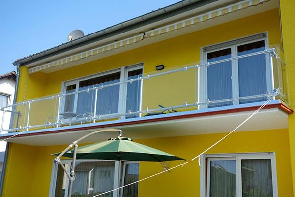 Geländer stabil für Balkon