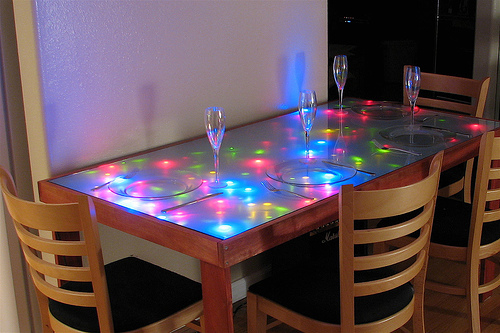 Plateau de Table à LED