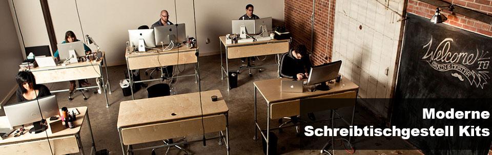Moderne Schreibtischgestell Kits