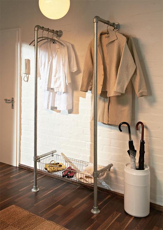 Perfekt Kleiderständer Als Garderobe