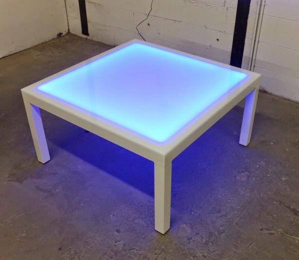 LED Kaffeetisch