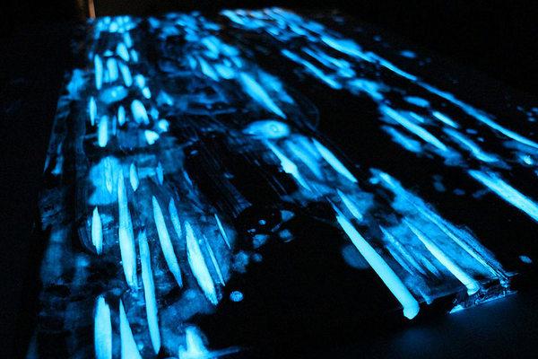 Plateau de Table à LED