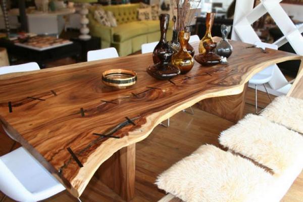 Tafelblad van hout