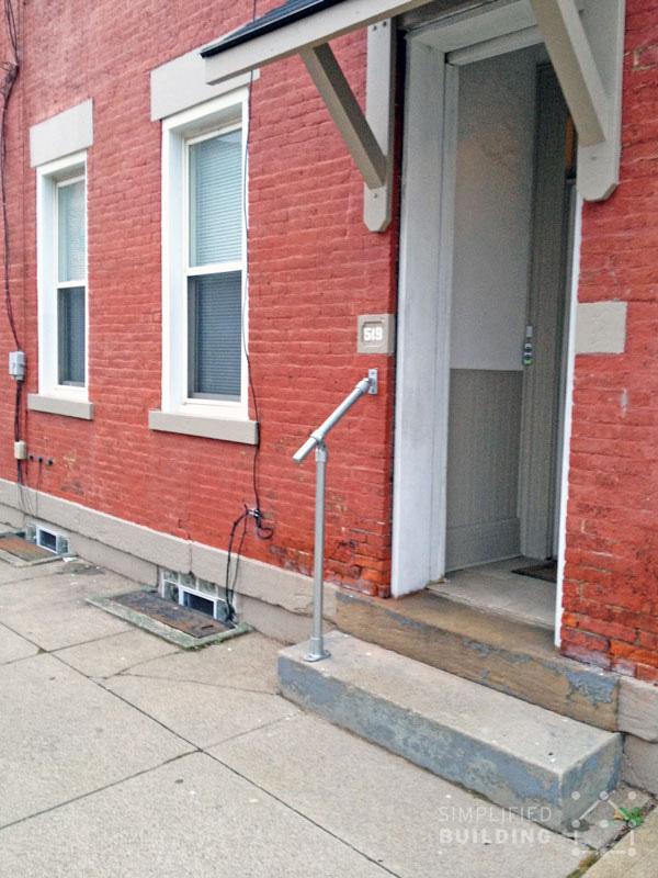 Treppengeländer für kleine Treppe