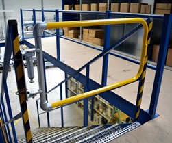 Self closing industrial safety gate simplified building industrial safety gate sciox Image collections