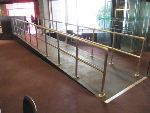 Ramp Handrail Double Rail Easy Installation Safety