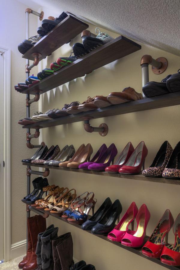 rangement chaussures faire soi meme. Black Bedroom Furniture Sets. Home Design Ideas
