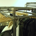 DIY Double Rail Clothing Displays