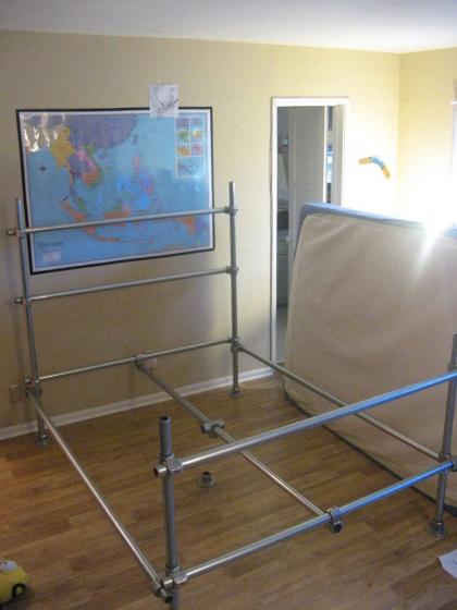 construire son lit project sbc fr. Black Bedroom Furniture Sets. Home Design Ideas